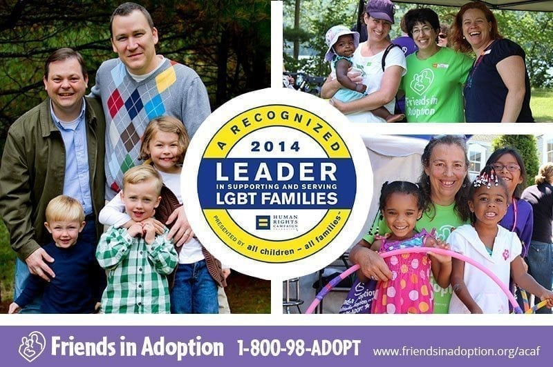 FIA is a leader in supporting and serving LGBT families