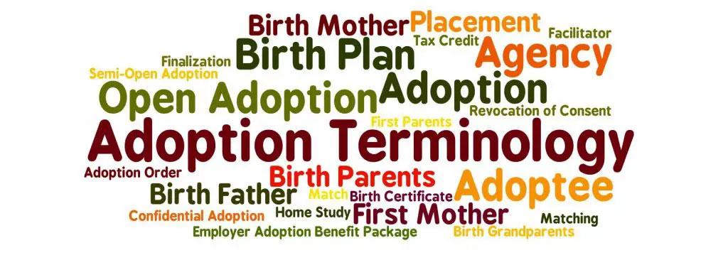 Adoption Terminology