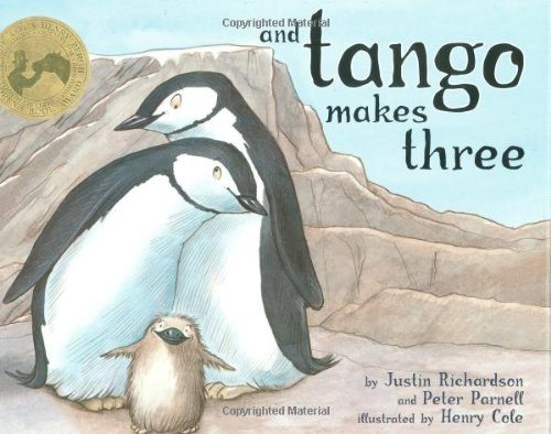 """Book cover of """"And Tango Makes Three"""", by Justin Richardson"""