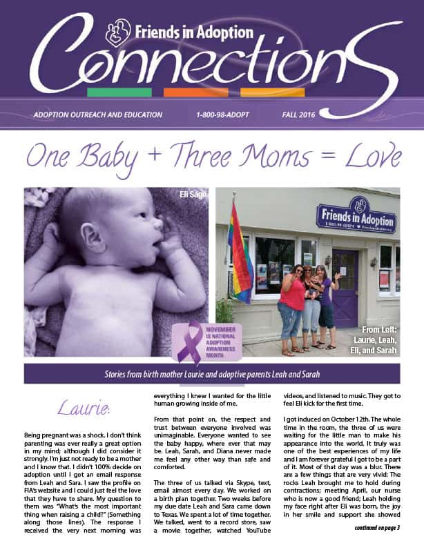 2016 Fall Connections Adoption Newsletter