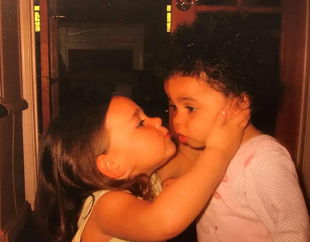 Kayleigh and Abby
