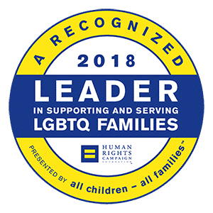 Friends in Adoption is a recognized Leader in supporting and serving LGBT Families. Presented by HRC's All Children - All Families