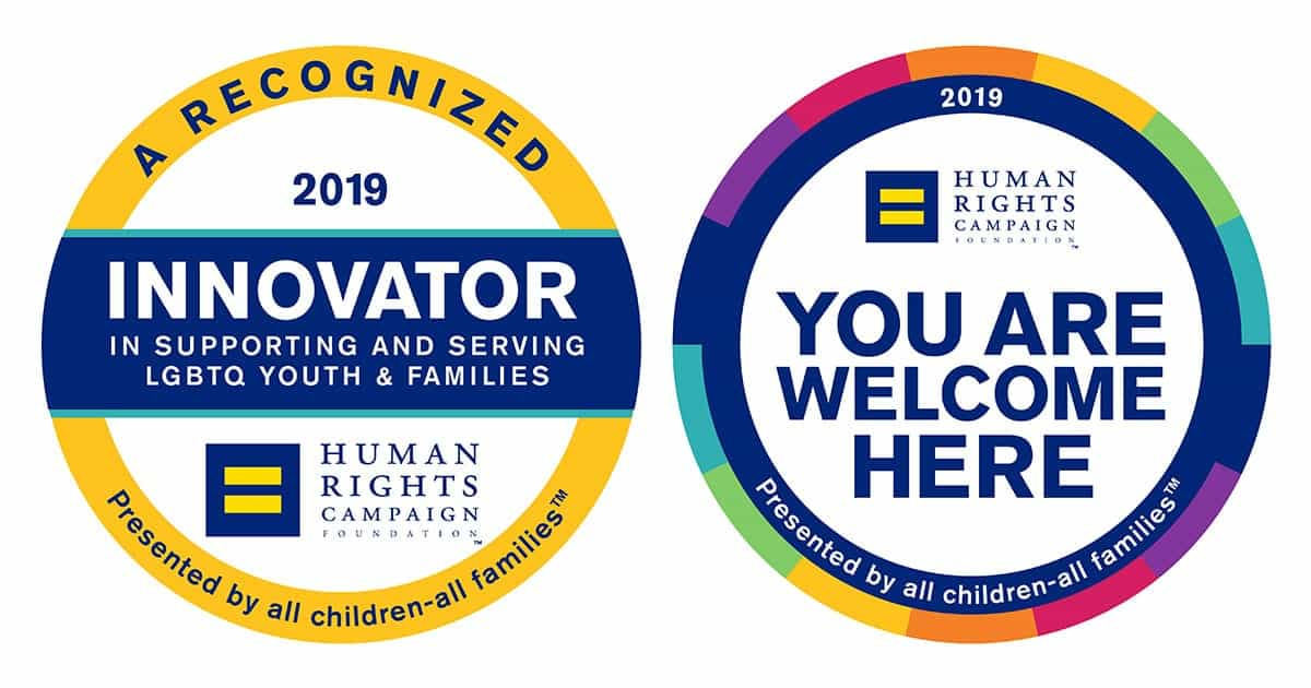 All Children - All Families Innovator Seal