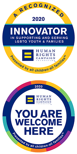 Recognition logos by HRC, Human Rights Campaign