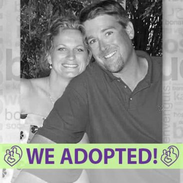 Bonnie and Stephan's Adoption Profile | 1-800-982-3678 | Friends in Adoption | www.friendsinadoption.org