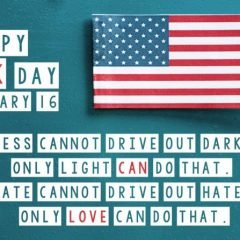 Darkness cannot drive out darkness; only light can do that. Hate cannot drive out hate; only love can do that.