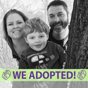 Julie, Dan, & Raymond's Adoption Profile | 1-800-982-3678 | Friends in Adoption | http://www.friendsinadoption.org