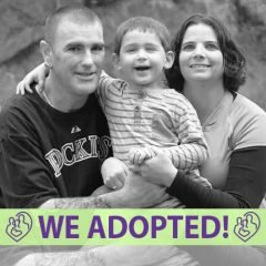 Andy, Ginny, and Liam's Adoption Profile | 1-800-982-3678 | Friends in Adoption | https://www.friendsinadoption.org