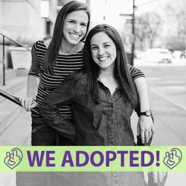 Allison and Beth Anne's Adoption Profile | 1-800-982-3678 | Friends in Adoption | http://www.friendsinadoption.org