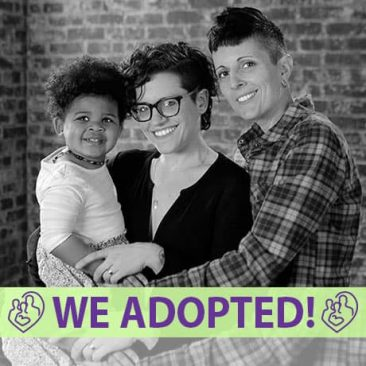 Jen, Stephanie, & Maya's Adoption Profile | 1-800-982-3678 | Friends in Adoption | https://www.friendsinadoption.org