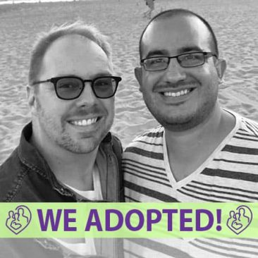 Brandon and Carlos's Adoption Profile | 1-800-982-3678 | Friends in Adoption | www.friendsinadoption.org