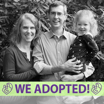Andy, Kelsey, & Aileen's Adoption Profile | 1-800-982-3678 | Friends in Adoption | http://www.friendsinadoption.org
