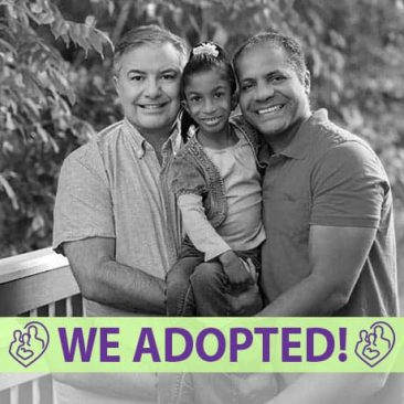 Jim, Tony, and Maya's Adoption Profile | 1-800-982-3678 | Friends in Adoption | www.friendsinadoption.org