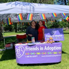 FIA booth at Albany Pride