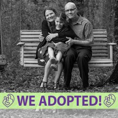 Dave, Liz and Emma's Adoption Profile | 1-800-982-3678 | Friends in Adoption | www.friendsinadoption.org