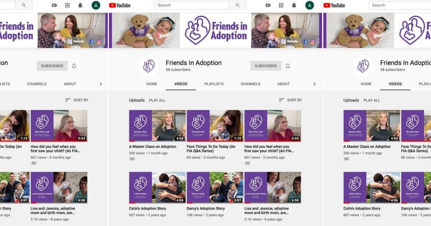 Friends in Adoption - YouTube
