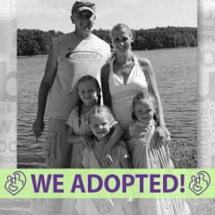 AG and Michelle's Adoption Profile   1-800-982-3678   Friends in Adoption   www.friendsinadoption.org