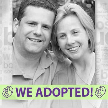 Jay and Caroline's Adoption Profile | 1-800-982-3678 | Friends in Adoption | www.friendsinadoption.org