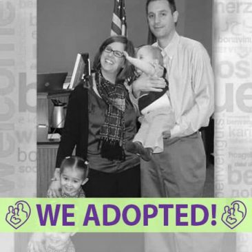 Jeff, Jenn, & Addie's Adoption Agency Profile | 1-800-982-3678 | Friends in Adoption | http://www.friendsinadoption.org