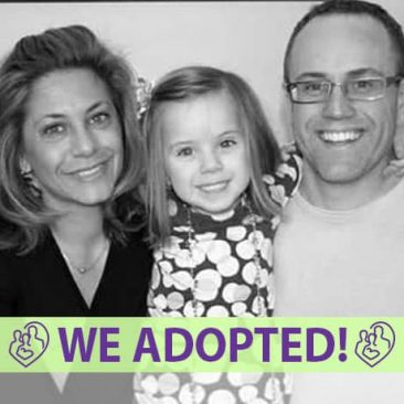 Kevin, Kelly, & Katelyn's Adoption Agency Profile | 1-800-982-3678 | Friends in Adoption | http://www.friendsinadoption.org