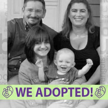 Regina & Karl's Adoption Agency Profile | 1-800-982-3678 | Friends in Adoption | http://www.friendsinadoption.org