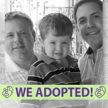 Stephen & Brent's Adoption Agency Profile | 1-800-982-3678 | Friends in Adoption | http://www.friendsinadoption.org